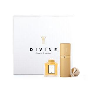 divine coffret cadeau flacon 50 ml + vaporisateur de sac 9 ml