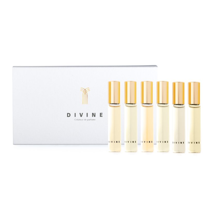 Divine roll - on discovery set : 6 x 5 ml roll - on of your choice