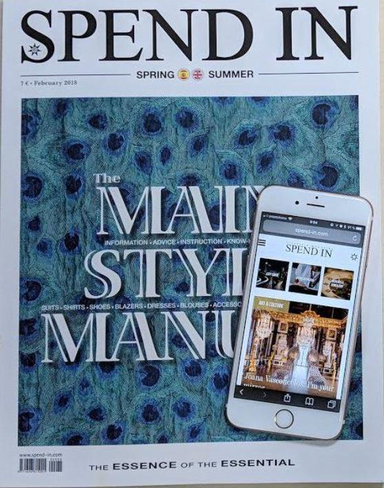 Divine Spend-In magazine Spain perfume divine newspaper