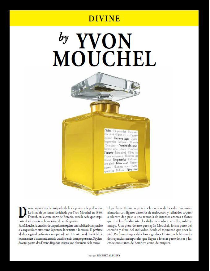 Spend-In magazine Spain divine perfume divine newspaper